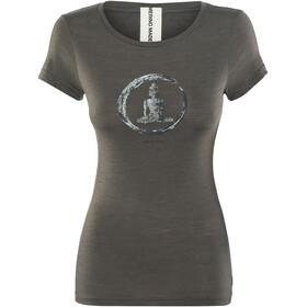 super.natural W's Digital Print T-Shirt Killer Khaki/Bamboo Buddha Print